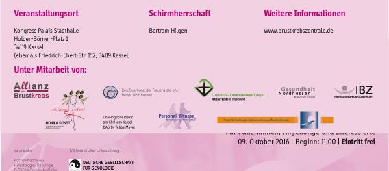 Kassel gegen Brustkrebs Info Veranstaltung